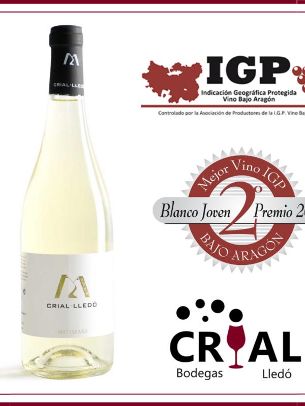 Mejor vino blanco IGP Bajo Aragon