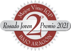 Vino rosado mejor vino IGP Bajo Aragón