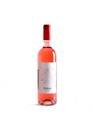 vino rosado delicias crial